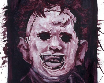 Texas Chainsaw Massacre Plakmounted Poster