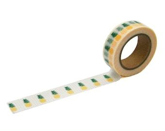 Pineapple Washi Tape, 15mm x 10m