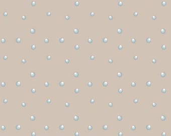 patchwork Christmas st4496304 bluish dots fabric