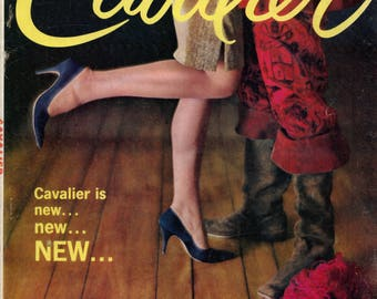 Cavalier Magazine March 1962 Very Good Condition Mature