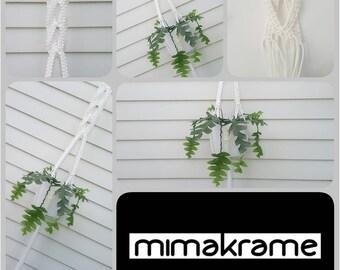 Something a little different - unique macramé hanger