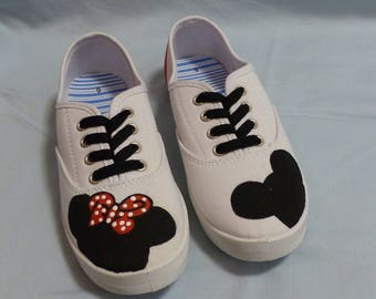 Minnie and Mickey Mouse Shoes