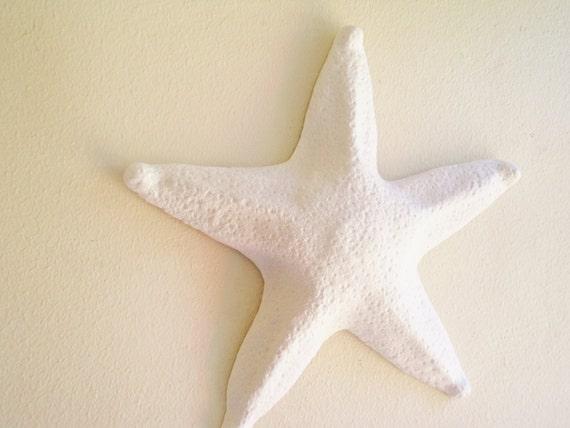 Elegant Large Starfish Wall Hanging Sculpture Large Sea Shell Beach