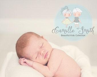 Children pre-made Logo, Kids Logo Design, Baby Boutique Logo, Baby neutral Logo design (25-LOGO)