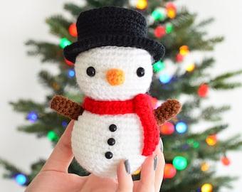 Amigurumi Snowman : Crochet christmas patterns crochet snowman applique pattern