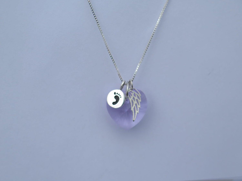 Miscarriage jewelry lilac miscarry jewelry miscarrige necklace gallery photo gallery photo gallery photo aloadofball Choice Image