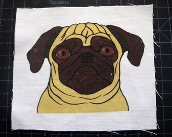 Fawn Pug Patch