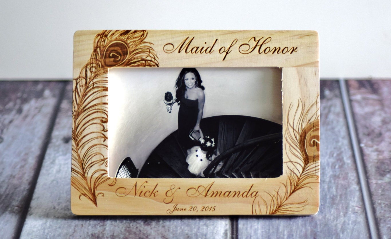 zoom - Wood Burning Picture Frame