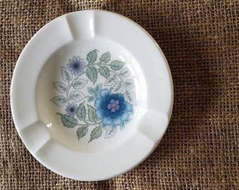 A Vintage Small Plate with Hanging Adhesive on the back!