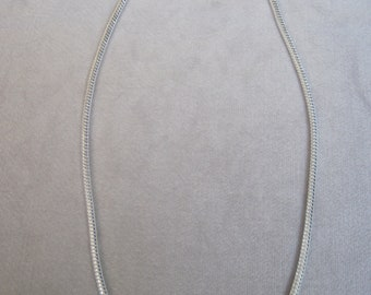 """Fantastic 4mm Round Silver Snake Chain Choice of 20""""-22""""-24"""" Lengths"""