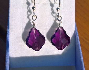 Baroque Swarovski Crystal Earrings