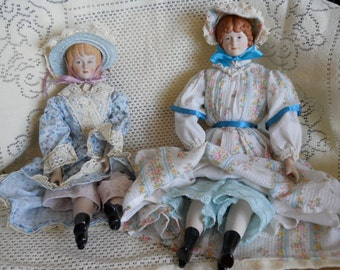 "Vintage ""Little Women"" handmade doll from the 1970's (Amy...the youngest)"