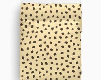 Cheetah Print Duvet Cover, Animal Print Bedding, Girls Bedroom Decor, Teen Girl Room Decor, Duvet Cover Queen, Twin Bedding, King Duvet