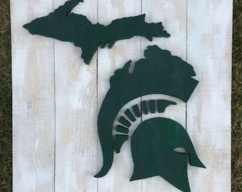 FREE SHIP Michigan State (#7955)