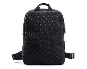 black backpack laptop backpack womens backpack bag travel backpack work backpack college backpack birthday gifts for her - UNOBPF X