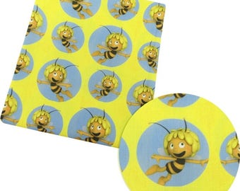 maya the bee  fabric