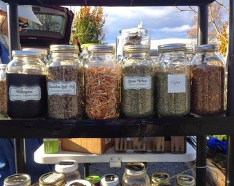 Dried Herbs by the Ounce