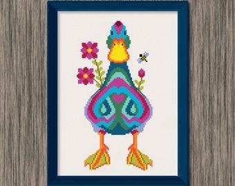 Duck  - PDF Cross Stitch Pattern