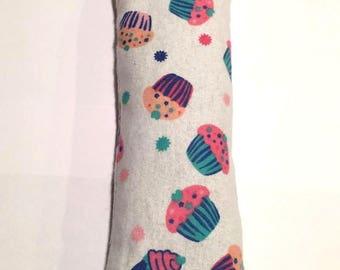 CatNip Kicker Pillow Toy Yummy Cupcake Design 100% Cat Nip No Fillers