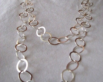 14mm Cable Link Chain 50 inch Necklace with Lobster Clasp