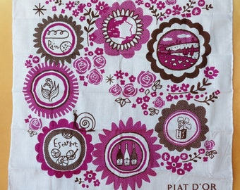 1234:Handkerchief / Cloth,Piat D'Or slim Cotton large Handkerchief / Cloth