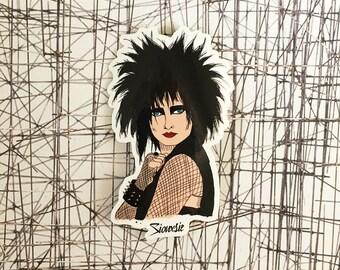 Siouxsie Sioux Vinyl Sticker