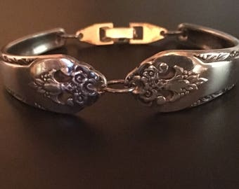 Antique Silverware Bracelet