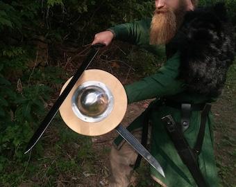 """Viking round Shield, Round Buckler Shield 12"""""""