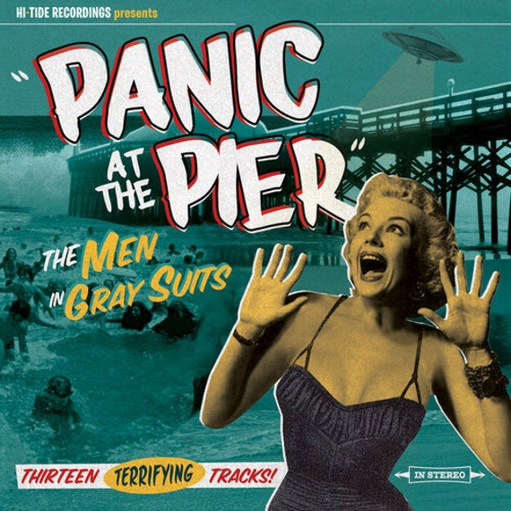 "The Men In Gray Suits ""Panic at the Pier"" (CD)"