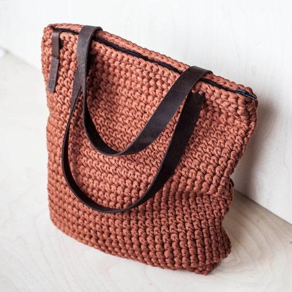 Tasche für jeden Tag Tote / häkeln Umhängetasche / täglichen