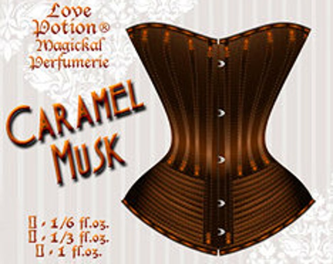 Caramel Musk - for Men and Women - Handcrafted Unisex Fragrance - Love Potion Magickal Perfumerie