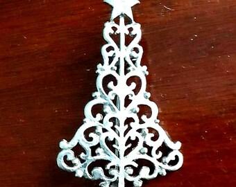 Broche d'arbre de Noël