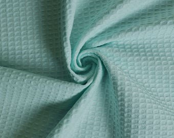 Terry cloth green honeycomb of water (m)