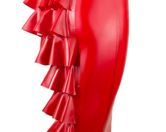 Latex Lobster Tail Skirt