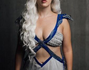 Daenerys Targaryen mother of dragons cosplay costume season 4 game of thrones
