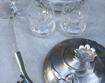 ART NOUVEAU  punch bowl service - WMF phantastic