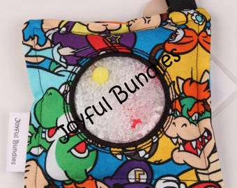 I Spy Bag, Mario Brothers, Car Game, Educational Game, Busy Bag, Travel Toy, I Spy Game, Party Favors, Eye Spy Game