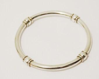 Sterling Bangle Vintage Bracelet.