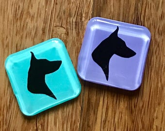 Doberman Xray Markers Customized with Initials