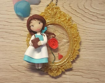 Necklace Beauty and the Beast