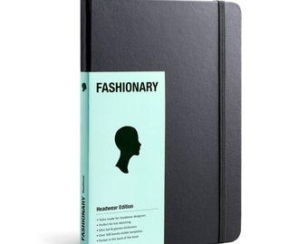 Fashionary Headwear Edition A5 Sketchbook for Milliners