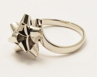 18 k ring starry bolduc