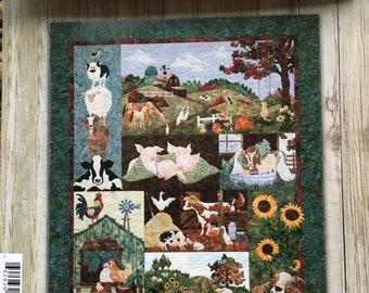 Back on the Farm Quilt patterns , by McKenna Ryan