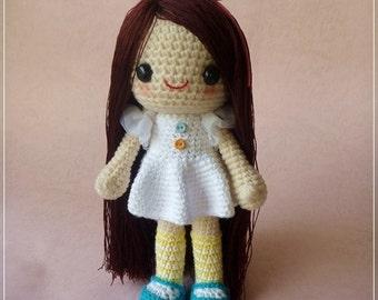 PDF Crochet Pattern - Nami