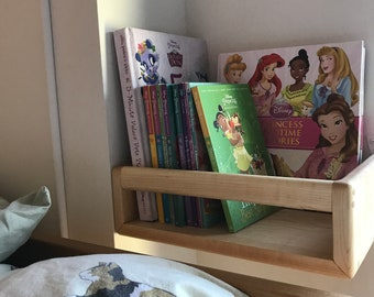 Maple Bunk Bed Bookshelves (Pair)