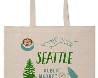 Seattle Market Tote