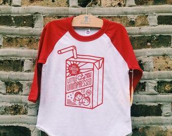 Juice Box Toddler Baseball Tee