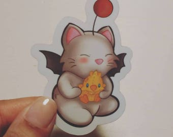 Final Fantasy --  Moogle -- Stickers