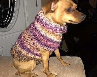 Custom Knit Small Dog Sweater