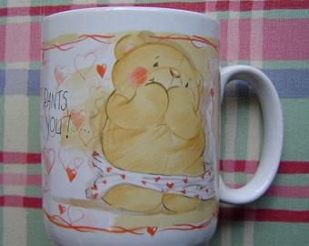 Valentine Heart Bear Mug